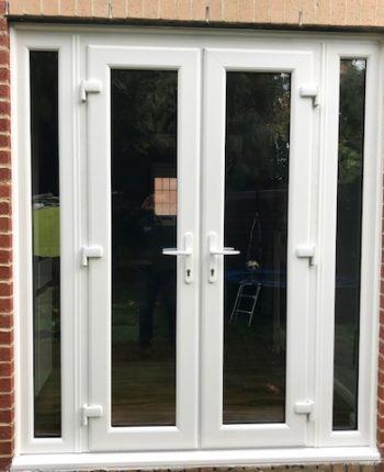 New UPVC French doors
