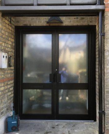 New aliminium doors