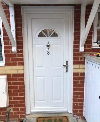 New upvc front door